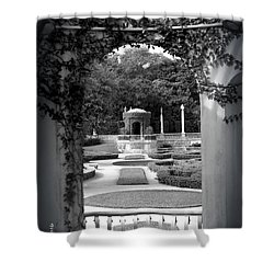 Vizcaya Garden Shower Curtain