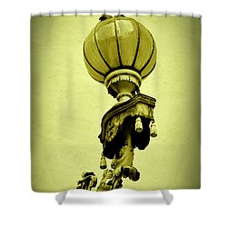 Vizcaya Lamp Shower Curtain