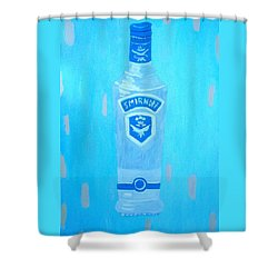Vodka Shower Curtain by Patrice Tullai