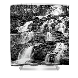 Vogel State Park Waterfall Shower Curtain