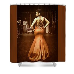 Vogue Reds Shower Curtain
