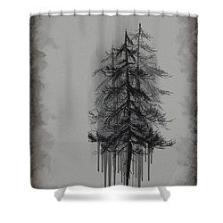 Voices Shower Curtain by Annette Berglund
