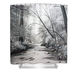 Voices Carry Shower Curtain
