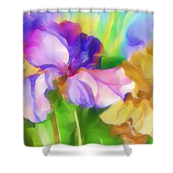 Voices Of Spring Shower Curtain