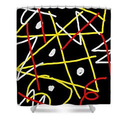 Void Apparent Shower Curtain