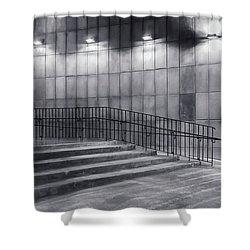 Voidness Shower Curtain
