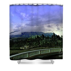 Volcan Cotacachi Shower Curtain