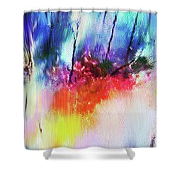 Volcanic Fissures Shower Curtain