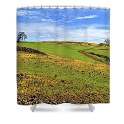 Shower Curtain featuring the photograph Volcanic Spring by James Eddy
