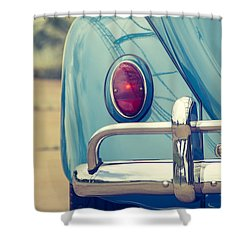 Volkswagen Beetle Shower Curtain
