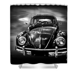 Volkswagen Shower Curtain by Charuhas Images