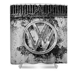 Volkwagen Sign Shower Curtain