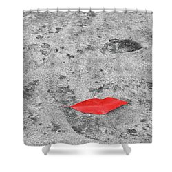 Shower Curtain featuring the photograph Voluminous Lips by Dale Kincaid