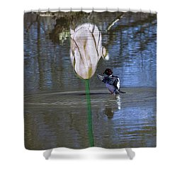 Come #f3 Shower Curtain