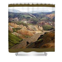 Vondugil Shower Curtain