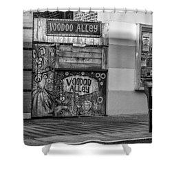 Voodoo Alley Shower Curtain