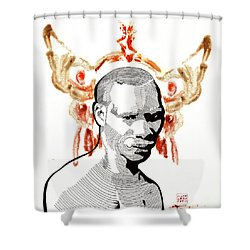 Voodoo Chile Shower Curtain