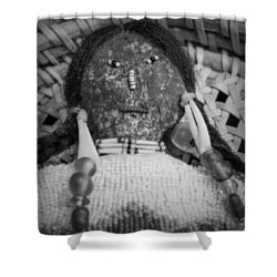 Voodoo Girl Shower Curtain by Lynn Sprowl