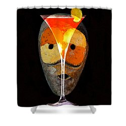 Voodoo Martini Shower Curtain by David Lee Thompson