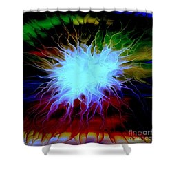 Vortex Shower Curtain by Greg Moores