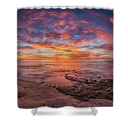 Vortex Shower Curtain by Peter Tellone