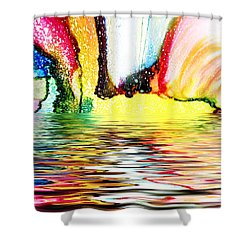 Vox Populi Shower Curtain by Sir Josef - Social Critic -  Maha Art