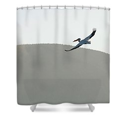 Shower Curtain featuring the photograph Voyager by Brian Duram