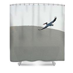 Voyager Shower Curtain by Brian Duram