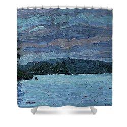 Voyageur Highway Shower Curtain