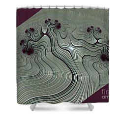Vrksasana Shower Curtain