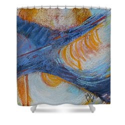 Vroom Shower Curtain