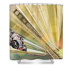 Vrooom II Shower Curtain