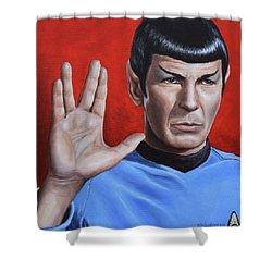 Vulcan Farewell Shower Curtain