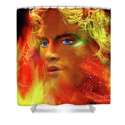 Shower Curtain featuring the photograph Vulcan by LemonArt Photography