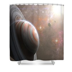 Vulcan Shower Curtain