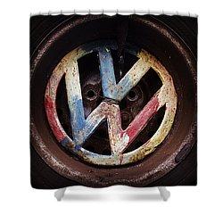 VW Shower Curtain by Joseph Skompski