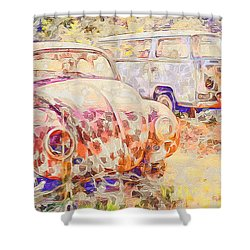 Vw Rest Home Shower Curtain