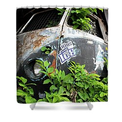 Vw Van Wall Shower Curtain