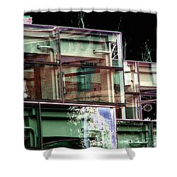 Wa State Convention And Trade Center Shower Curtain by Tim Allen