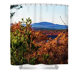 Wachusett In Fall Shower Curtain