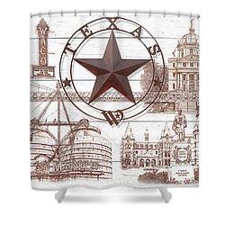Waco Texas Shower Curtain