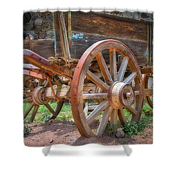 Wagons Ho Shower Curtain