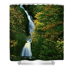 Wahkeena Falls Waterfall Shower Curtain
