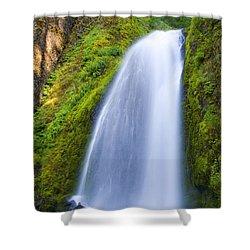 Wahkeena Shower Curtain by Mike  Dawson