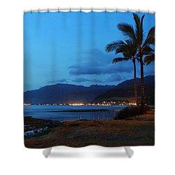 Waianae Night Shower Curtain by Craig Wood