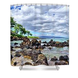 Wailea Beach #2 Shower Curtain