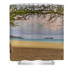 Waimanalo Beach Shower Curtain