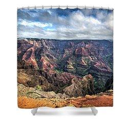 Waimea Canyon Kauai Hawaii Shower Curtain