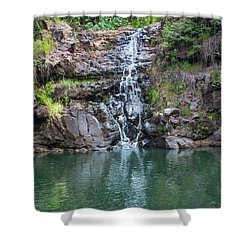 Waimea Waterfall Shower Curtain