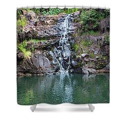 Waimea Waterfall Shower Curtain